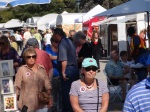 FallFest-2012-A great crowd shopping for beautiful artwork and incredible weather!