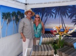 FallFest-2012-Au Naturale Organic Images was there with their relaxing tropical paintings