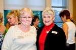 At the New Members Champagne Reception. Photo by Avant Garde Images.