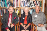 Dr Neil Curley, Cynthia and Walter Slack