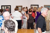 "The von Liebig Art Center attracted hundreds to the preview reception for Following Footsteps: Three Generations of Gruppe Plein Air Painters, the Adult Student Exhibition and the Members Gallery ""Scene in Naples"" show."