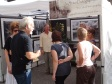 Jay Stanton attracts a crowd to his booth of fine art photography