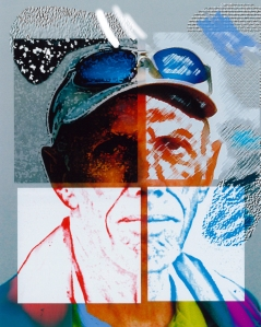 "John Goodlet ""Drawn and Quartered"" Digital painting. John teaches classes for the Naples Art Association."