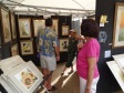 Naples watercolor artist Barbara Groetemann tells customers more about her process