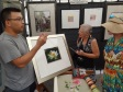Verne J Yan, hand embroidery artist, explains how he continually adds details and color to his images to make them jump off the 2D surface