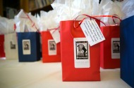 Flag Day themed gift bags Camera USA 2013