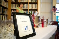 Champagne provided by Vi at Bentley Village Camera USA 2013