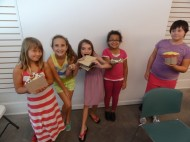 delicious desserts made from different fiber materials in Marti Koelers ARTScool Class Fun with Fabric