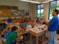 Glaze day in ClaysCOOL class with David Hammel
