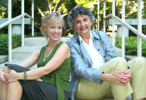 Arts & Alzheimer's Program Co-Directors Angel Duncan & Bernadette La Paglia